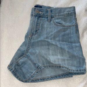 Girls Old Navy Blue Jean Shorts